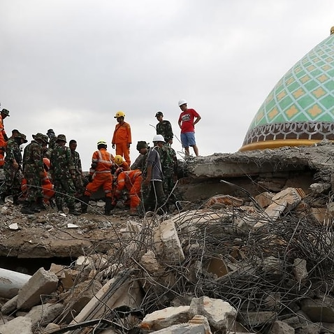 The  Indonesian island of Lombok has been battered by earthquakes.