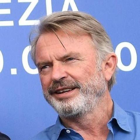 Combo image: New Zealand actor Sam Neill and Australian actor Rebecca Gibney.
