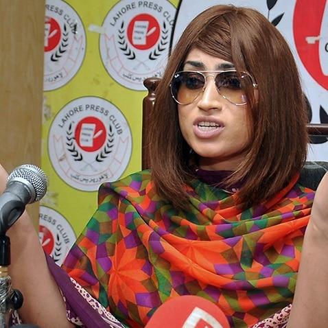 File image of Pakistani fashion model Qandeel Baloch