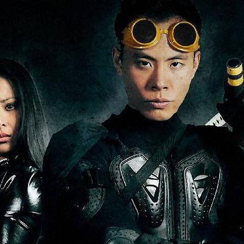 Maria Tran and Phillip Kane in the movie poster