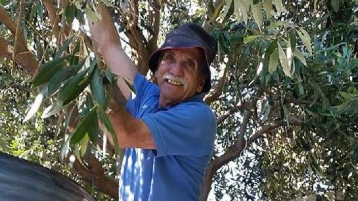 Jack Condous is well-known in Adelaide for sharing his garden products with his neighbors.