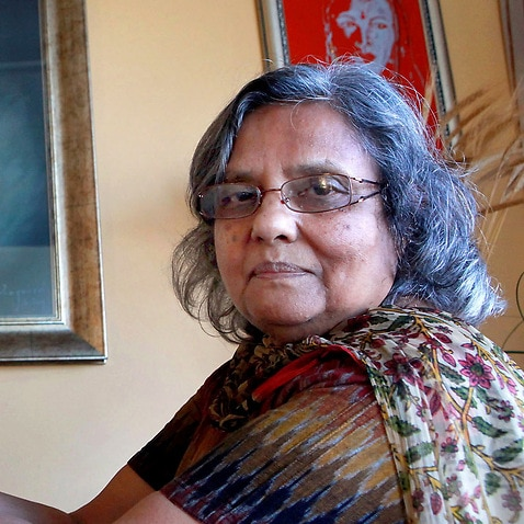 Ela Gandhi says she treasures the last letter she received from her grandfather, Mahatma Gandhi.