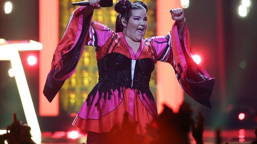 Image for read more article 'Israel's Netta wins 2018 Eurovision'
