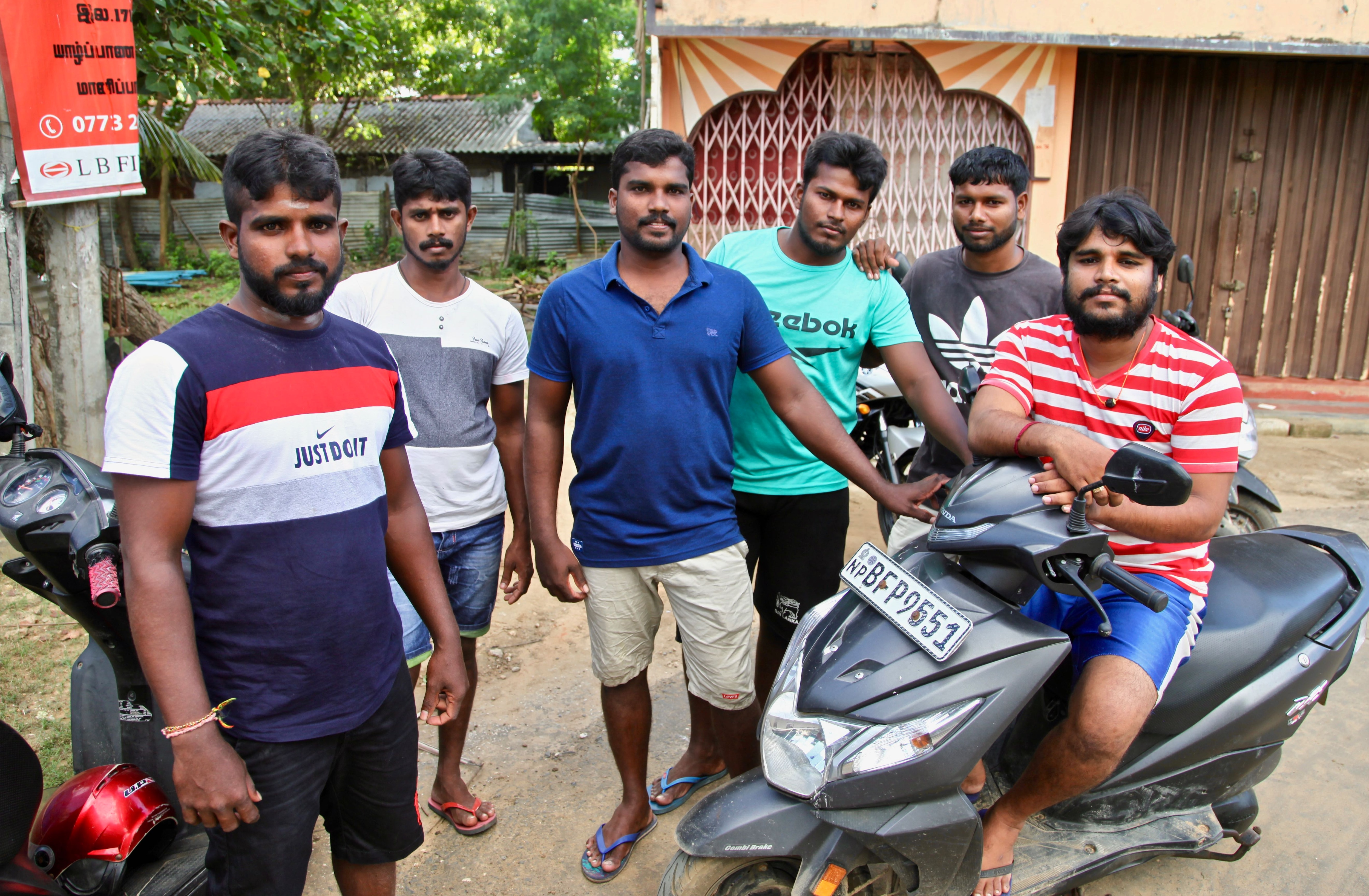A group of Tamil men say there are few who would risk traveling by boat ton Australia nowadays.