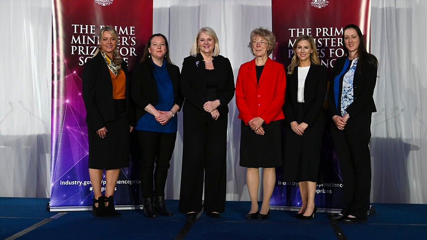 Acclaimed women dominate PM's Prizes for Science