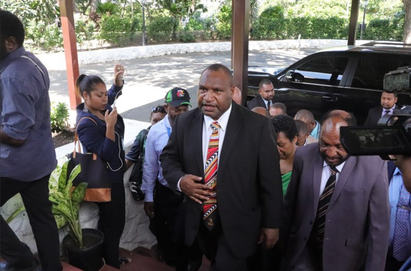 New PNG prime minister James Marape has flagged a shift in foreign policy.