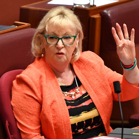 Labor Senator Helen Polley during Question Time in the Senate chamber at Parliament House in Canberra, Thursday, November 30, 2017. (AAP Image/Mick Tsikas) NO ARCHIVING