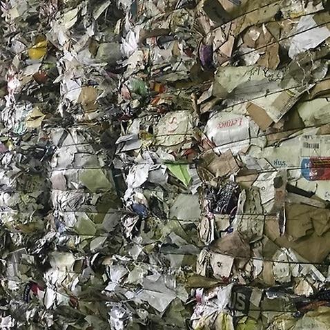 A recycling facility in western Sydney