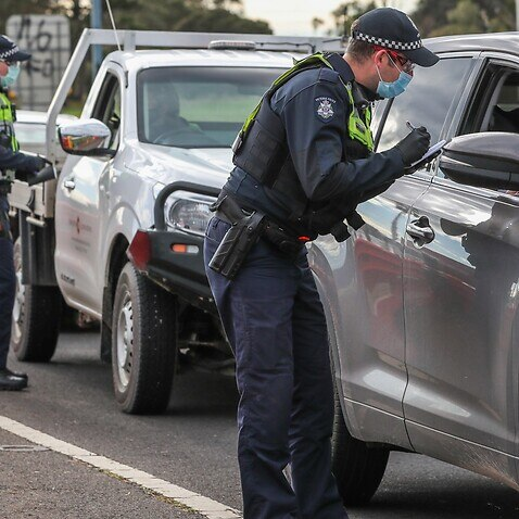 police covid-19 permit border closures