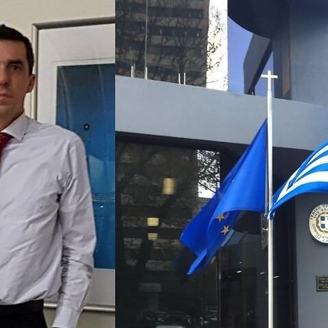 Greece's Consul General in Melbourne, Dimitrios Michalopoulos