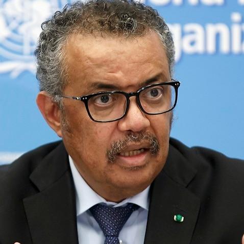 テドロス・アダノム・ゲブレイエス博士、世界保健機関の局長。