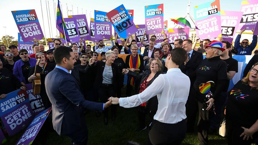 Same-sex marriage bill passes Australian Parliament