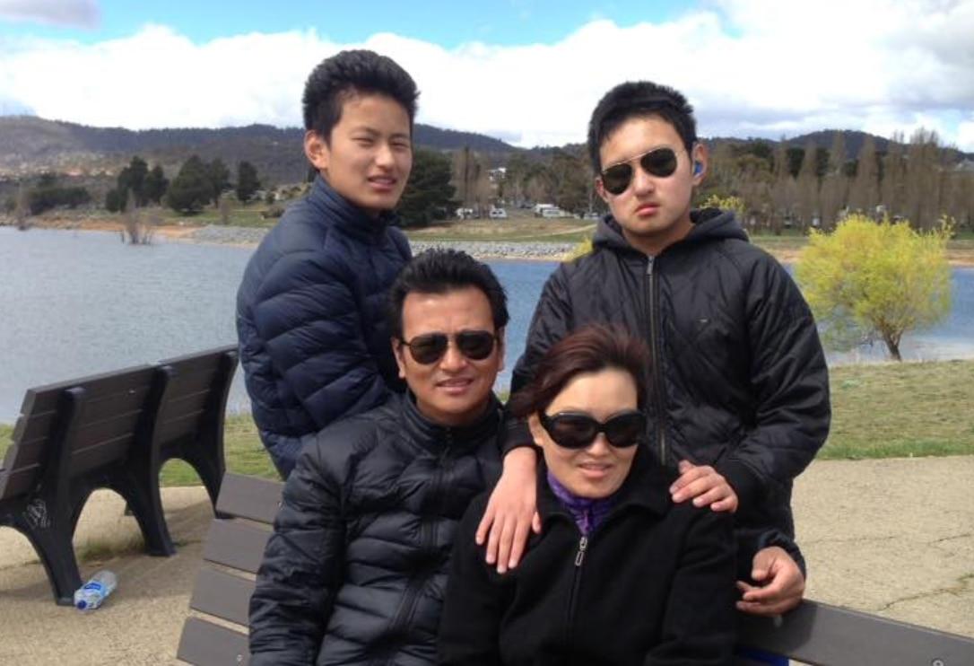 The Wangchuck family