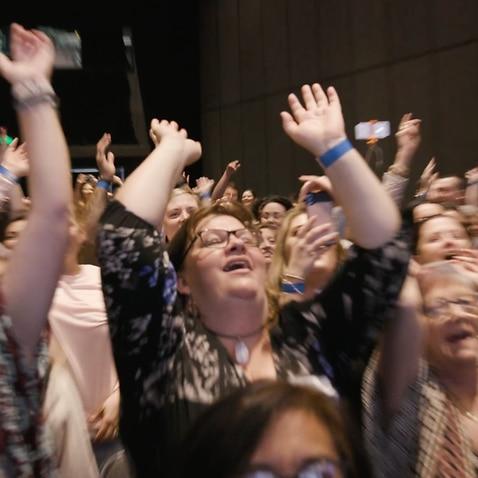 Crowd at Gold Coast's Star Casino