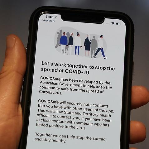 新冠病毒接觸者追踪應用程式(COVIDSafe)由4月26日推出以來,到目前經已有超過五百萬人下載。