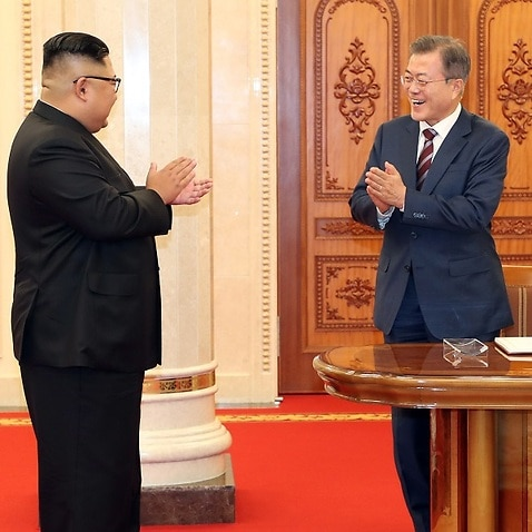 North and South Korea: Kim and Moon hail new future