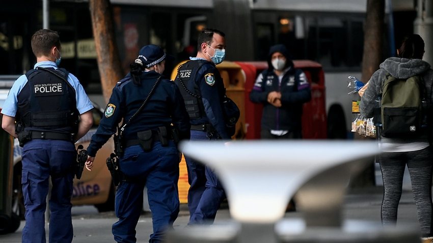 Image for read more article ''Double standard in plain sight': COVID-19 police operation in south west Sydney draws criticism'