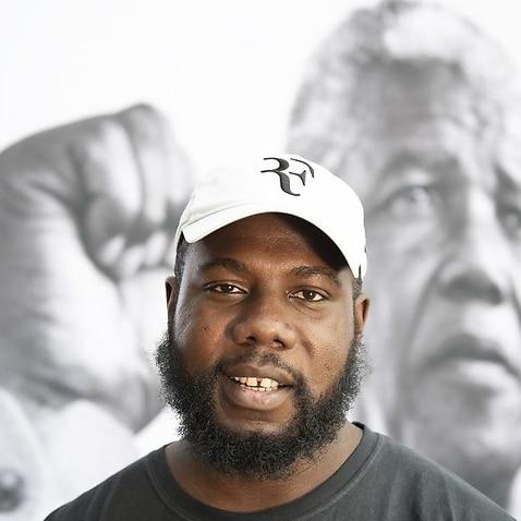 Kweku Mandela, the grandson of Nelson Mandela,