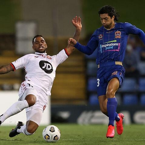 A-League - Newcastle Jets v Western Sydney Wanderers FC