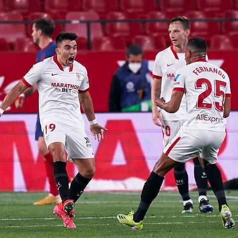 Sevilla FC v Atletico de Madrid - La Liga Santander