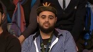 Zaky Mallah during an appearance on ABC's Q&A.