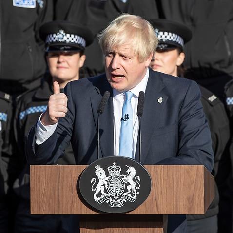 Prime Minister Boris Johnson said Thursday he would