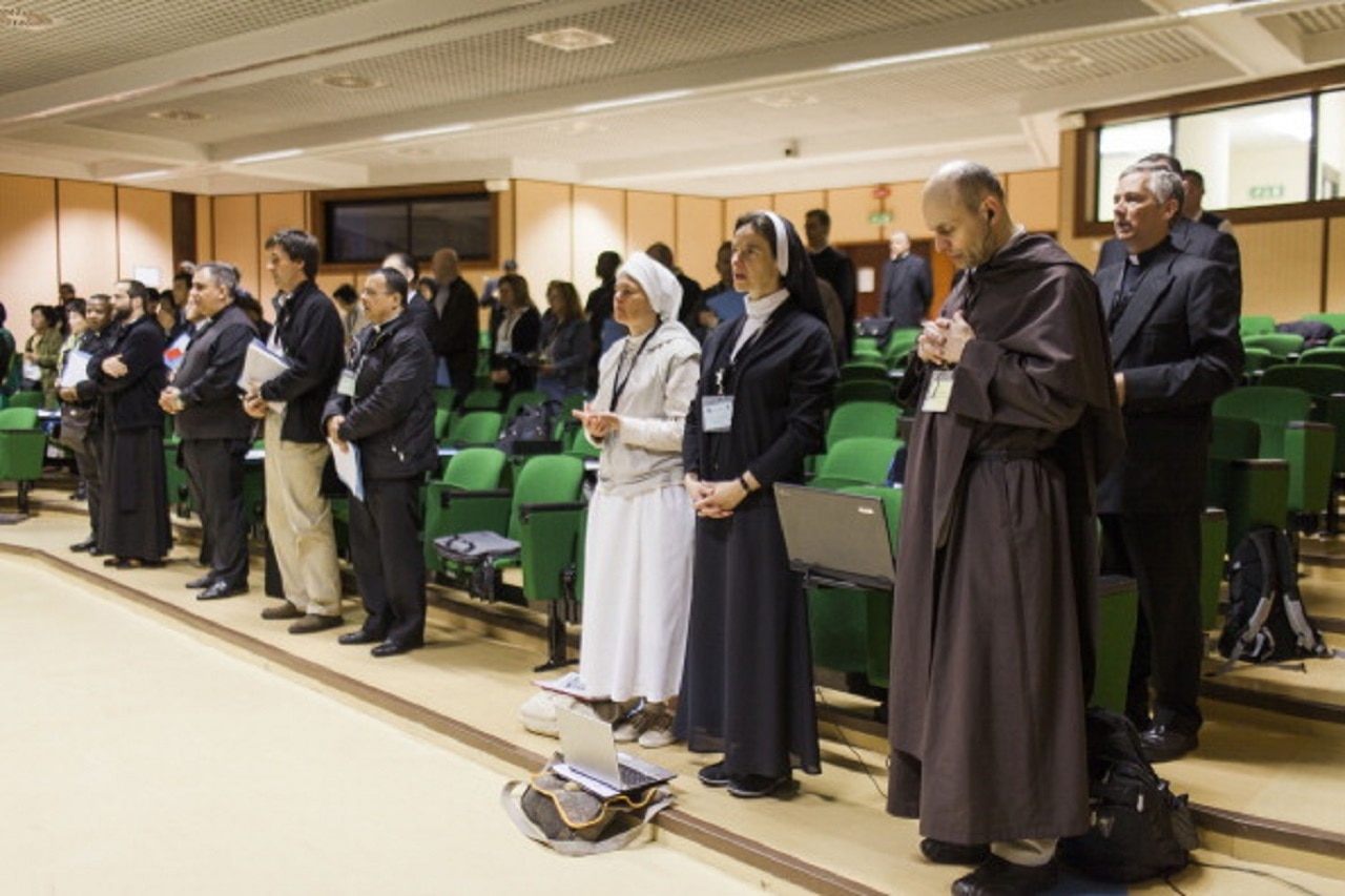Exorcists from all over the world arrived in Rome to attend their annual conference.