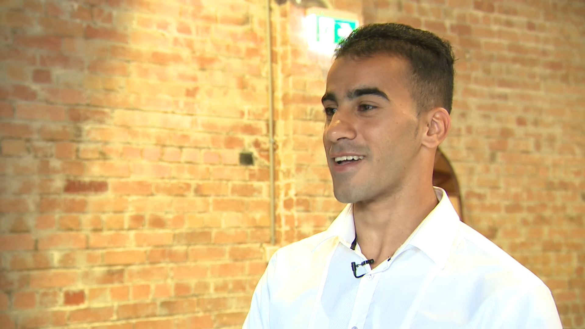 Hakeem Al-Araibi says he's happy to finally be home with his wife.