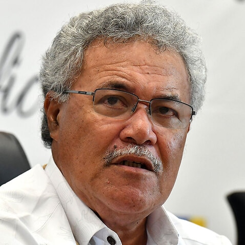 Tuvalu's prime minister has slammed comments by deputy prime minister Michael McCormack as
