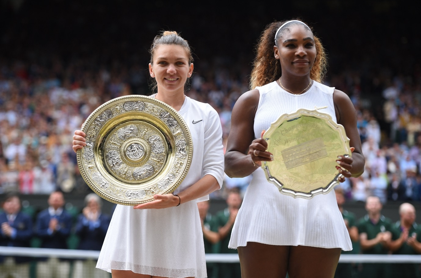 Halep triumphs at Wimbledon