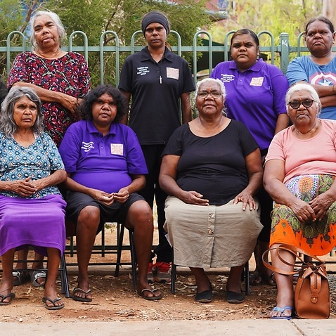 The Tangentyere Women's Family Safety Group are known for their work helping women in the central desert.