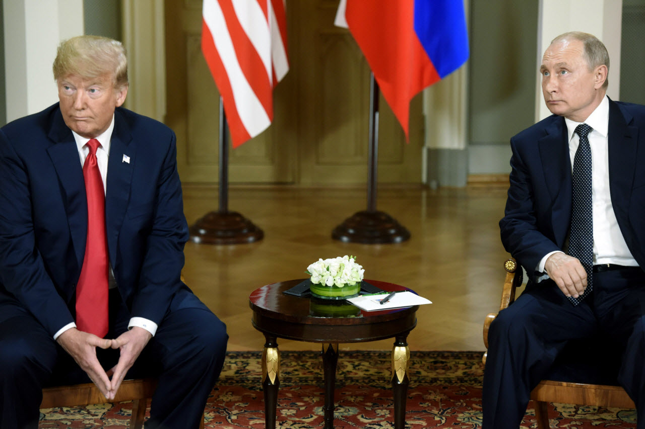 Monday is Trump Putin summit day - starts at 1015GMT