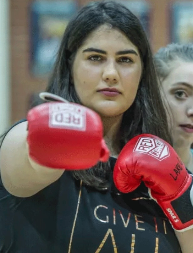 Caitlin founded Jasiri Australia, which teaches self-defense skills to young women.