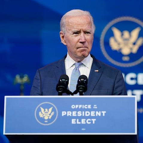 Gewählter Präsident Joe Biden.