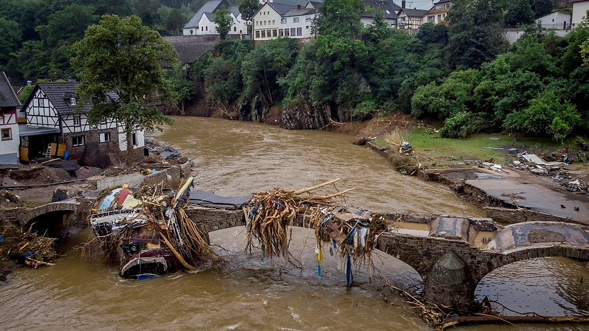 Image for read more article 'European floods show need for tough action on climate change'