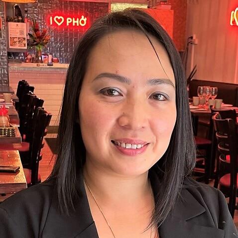 Emma Nguyen at her Sydney restaurant.