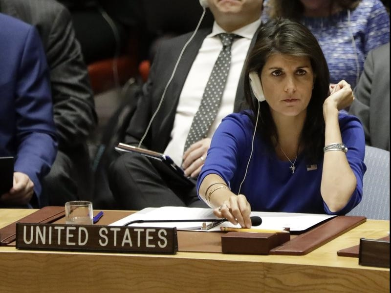UN ambassador, White House quarrel over timing on sanctions