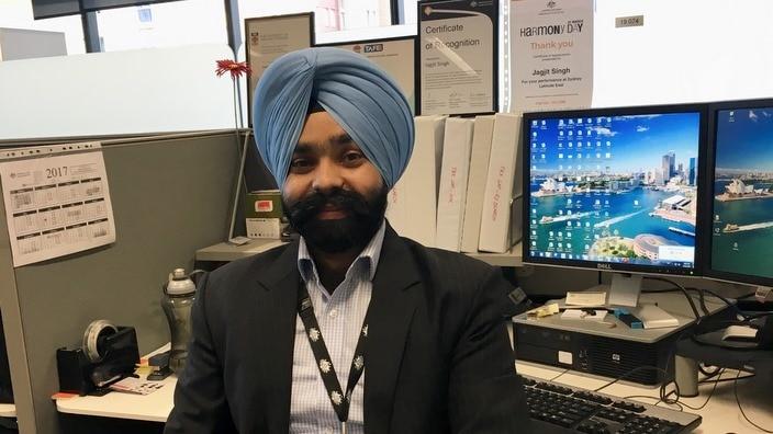 Jagjit Singh, Community Relations Officer, ATO