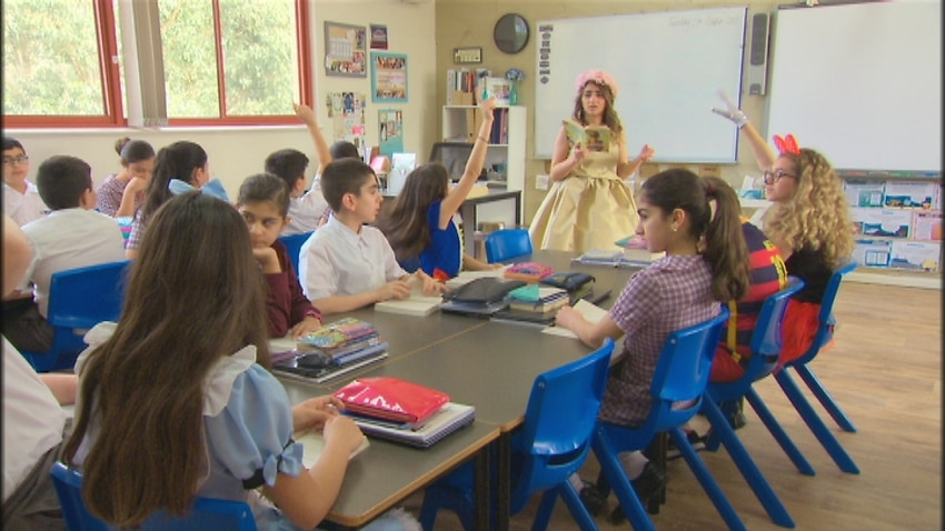 Image for read more article 'Australia's only Assyrian school is giving refugees a fresh start'