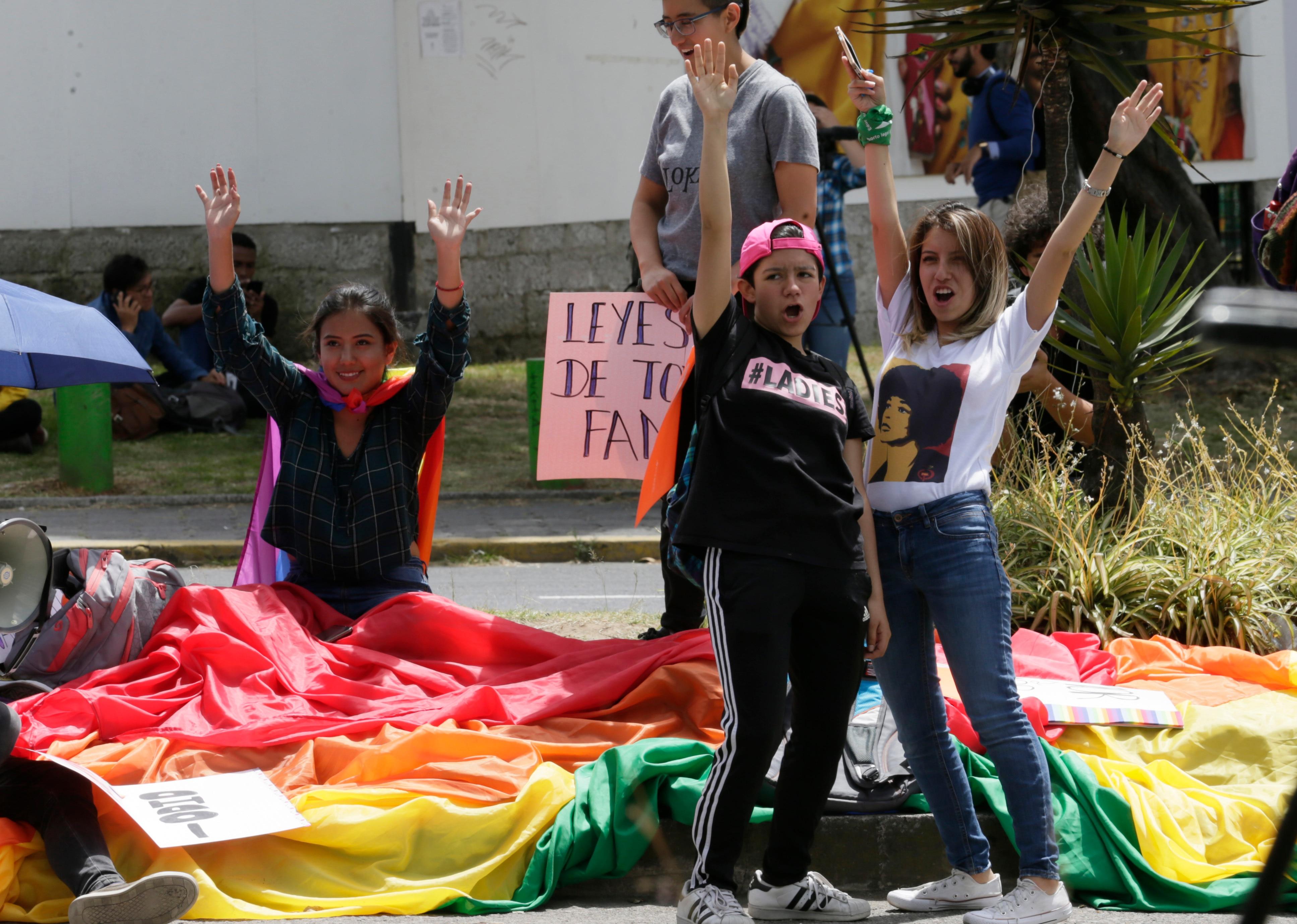 Activists celebrate the decision.