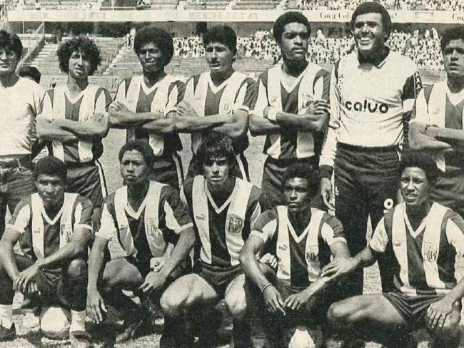 The Alianza Lima team that perished when their plane crashed into the Pacific Ocean