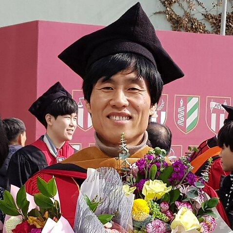 North Korean refugee Ken Eon recently graduated from the Korea University Graduate School of Public Administration