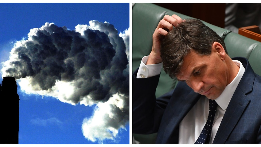 Australia forecast 'to exceed emissions targets' as Angus Taylor prepares for international climate talks