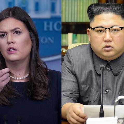 Huckabee Sanders Kim Jong-un