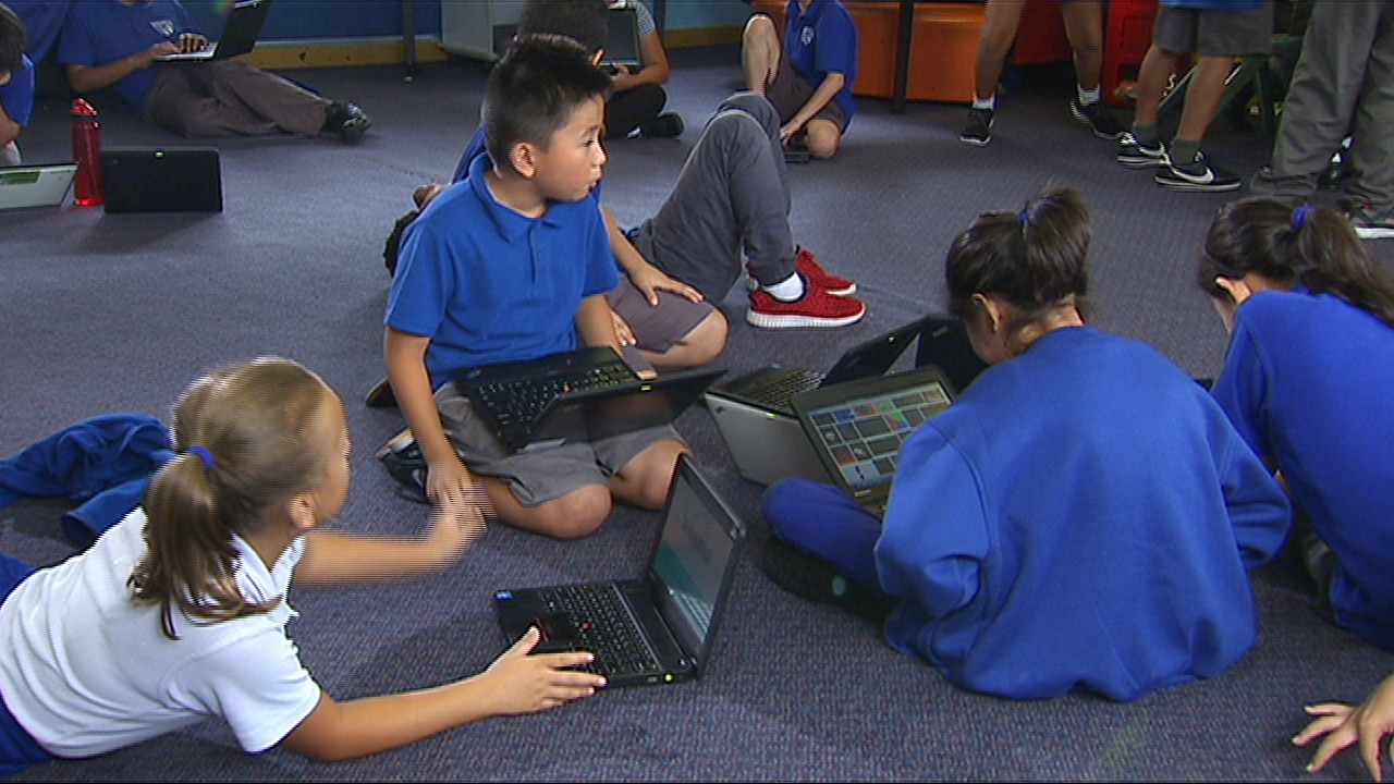 Sydney school technology innovation indigenous connection