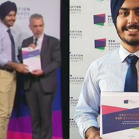 Harmandeep Singh Sunner, Punjabi topper in NSW