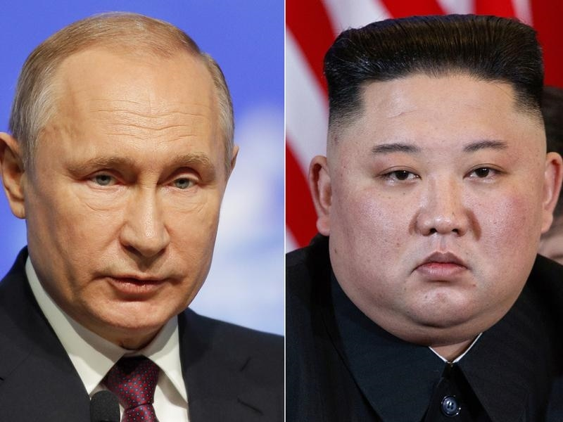 North Korea's nuclear program will be the main topic when Russia's Vladimir Putin meets Kim Jong-un.