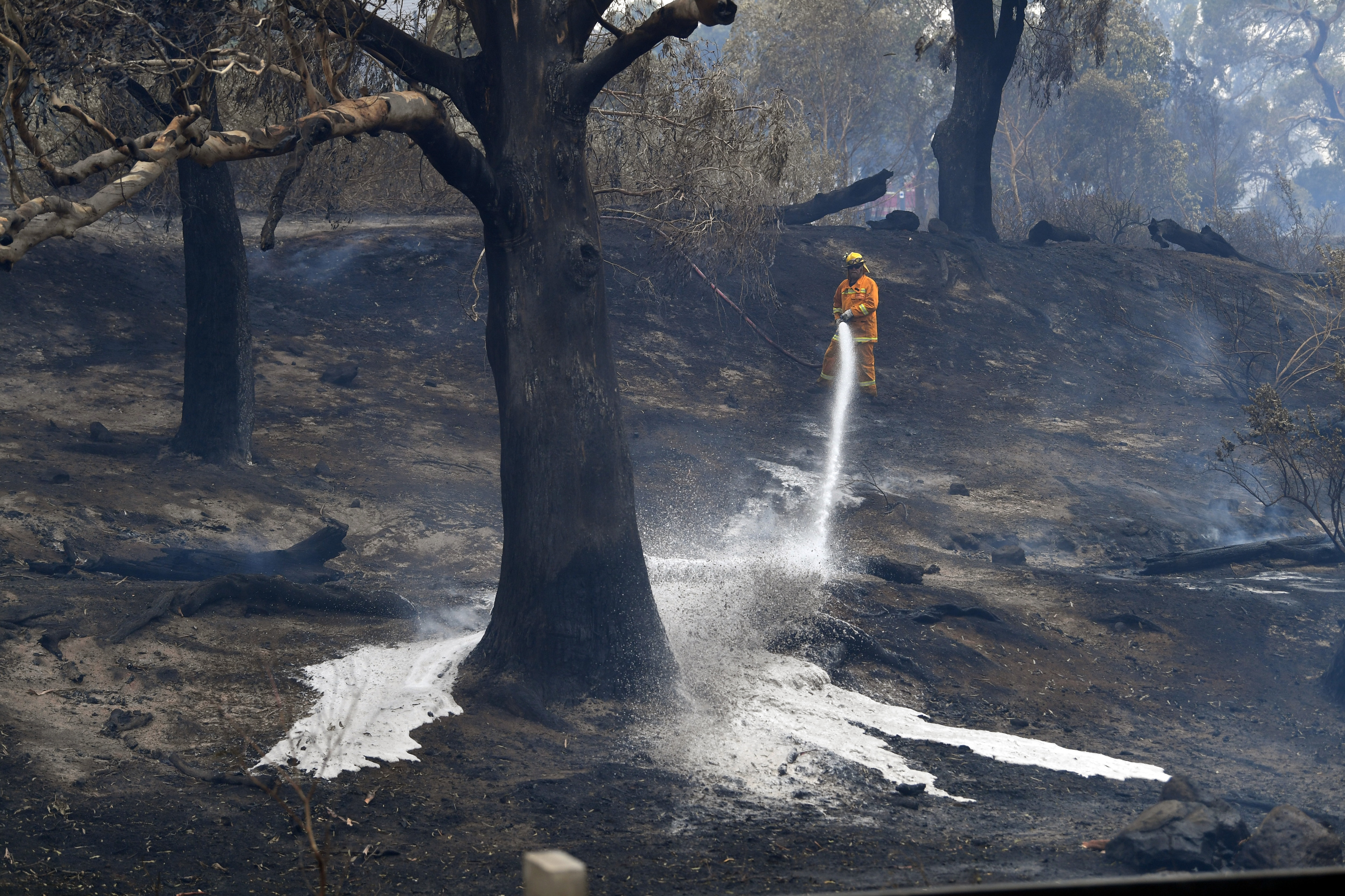 People leave parts of Australia's Victoria state as fire conditions worsen