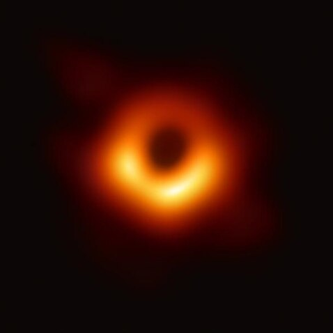The image of the black hole