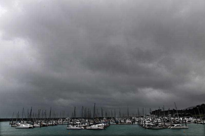 Hayman Island Weather Cyclone Debbie